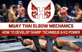 Muay Thai Elbow Mechanics
