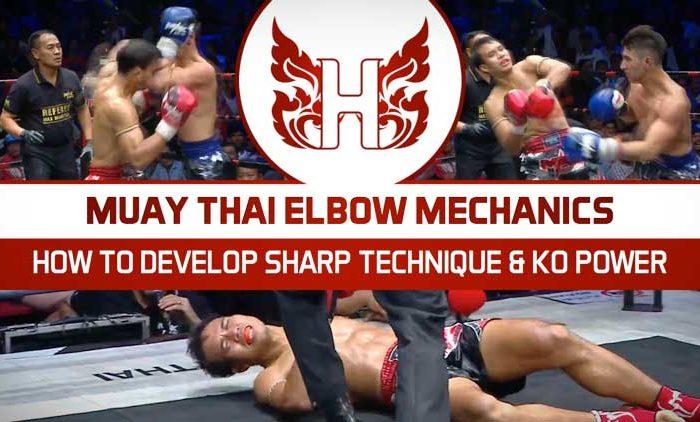 Muay Thai Elbow Mechanics