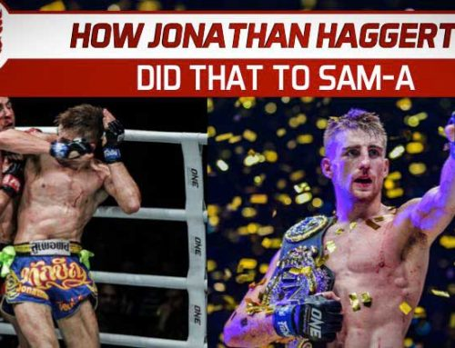 HOW JONATHAN HAGGERTY DID THAT TO SAM-A