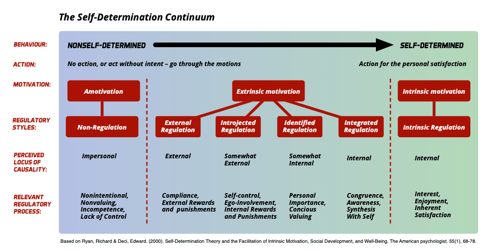 Self-Determination-Continuum