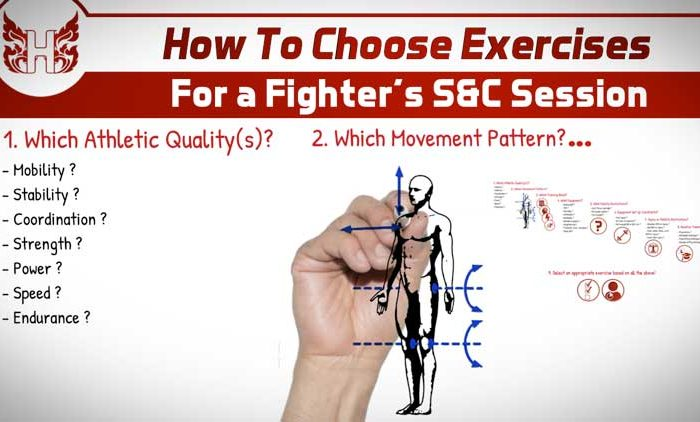 How To Choose Exercises For a Fighter's S&C Session