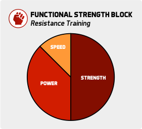 Functional Strength Block Resistance Exercise Conjugate