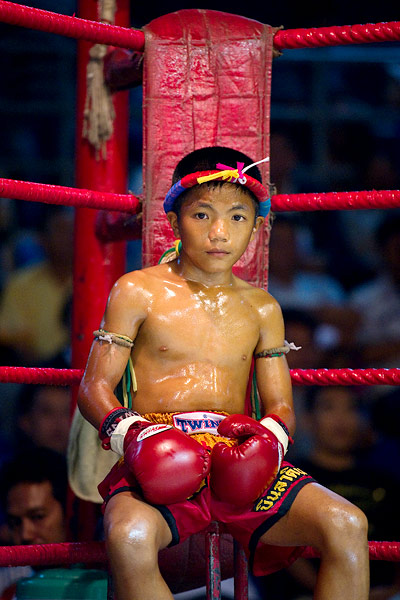 Young Muay Thai Fighter - credit Nicolas Asfouri
