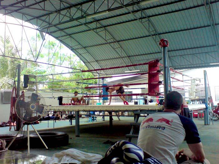 Don at the late Pimu's WPT Gym, Bangkok 2007