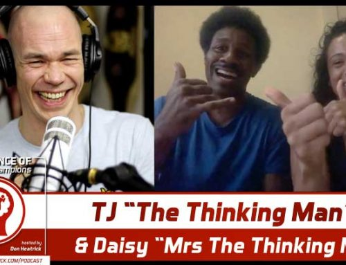 TJ The Thinking Man and Daisy Mrs The Thinking Man – The Science Of Building Champions Podcast