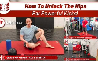 How to unlock the hips for powerful kicks