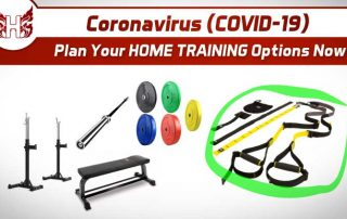 Coronavirsus COVID-19 Home Training