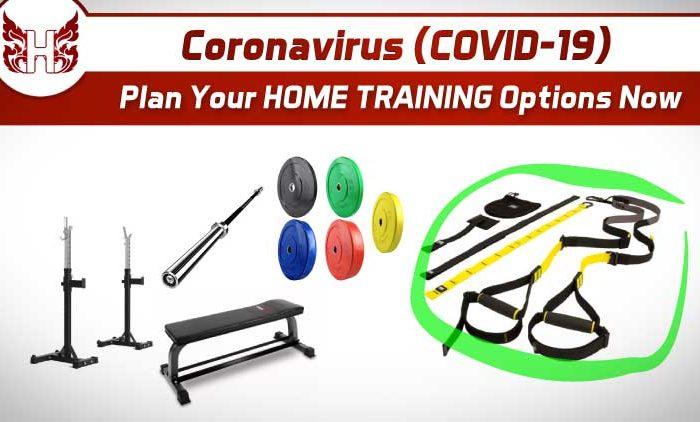 Coronavirsus COVID-19 Home Training