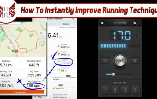 How to instantly improve your running technique