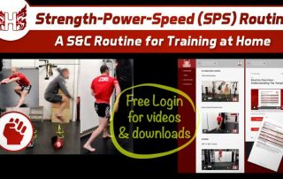 S&C Home Training Routine No equipment
