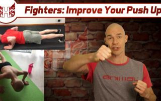 Fighter improve your push up