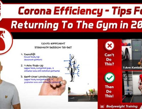Corona Efficiency – Tips for Returning to the Gym in 2020