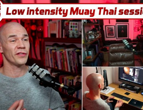 Low Intensity Muay Thai Training?