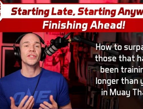 Starting Late – Starting Anyway – Finishing Ahead